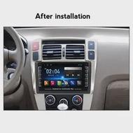 "2 Din Android 2.5D HD 8นิ้ว """" """" """" """" """" """" """" """" """" ระบบนำทาง GPS วิทยุบลูทูธเครื่องเล่นมัลติมีเดียสเตอริโอสำหรับ Hyundai Tucson ..."