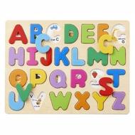 日本 Ed-Inter 木玩系列-木質拼圖(A、B、C)