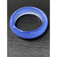 純天然土耳其藍玉髓 頂級滿色土耳其藍玉髓手鐲