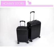 กระเป๋าเดินทางล้อคู่ กระเป๋าเดินทาง ขนาด20/24 นิ้ว กระเป๋าลาก แข็งแรง ยืดหยุ่นสูง น้ำหนักเบา ตัวกระเป๋ากันน้ำ ทนทาน