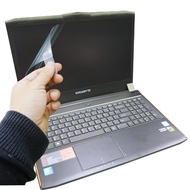 【Ezstick】技嘉 GIGABYTE P55W 靜電式筆電LCD液晶螢幕貼(可選鏡面或霧面)
