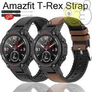 NEW Amazfit T-Rex t rex smart watch bands strap Leather sports band belt for xiaomi amazfit t-rex Accessories