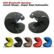 大海螺 金冠K99 海螺 大海 藍芽喇叭 便攜式音響