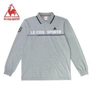 法國公雞牌長袖POLO衫 LWK2124195-男-麻灰