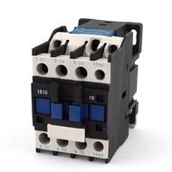 Power AC CONTACTOR 1NO AC 220V 50/60Hz มอเตอร์ขดลวดรีเลย์สตาร์ทเตอร์ 32A 3-PHASE-POLE