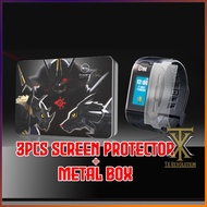 SCREEN PROTECTOR 3pcs + Metal Box FOR VITAL BRACELET 暴龙机 贴膜 DIGIMON