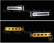 《※台灣之光※》全新RAV4 PREVIA ALPHARD 後照鏡 後視鏡雙色 LED 小燈 方向燈組