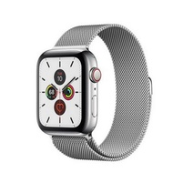 Apple Watch Series 5 GPSCellular 40mm, Stainless Steel Case, Silver Milanese Loop Band