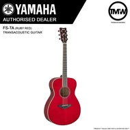 PRE-ORDER (Dec/Jan) Yamaha FS-TA (Ruby Red) TransAcoustic Guitar FSTA Concert body FS-TA Solid spruce top Trans Acoustic Guitar Mahogany back & sides Absolute Piano The Music Works Store GA1