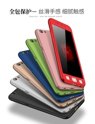 OPPO R11、R11 PLUS、R9、R9 PLUS、R9S、R9S PLUS   360 All-inclusive matte Case  (Free Tempered glass)