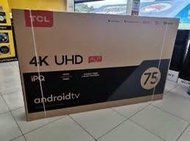 Tcl android smart TVs 75 inch brand new