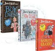 David Walliams special FULL COLOR edition books ( 3 books set)