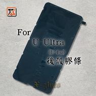 ★群卓★原裝 HTC U Ultra U-1u 後殼膠條 背膠 電池蓋 防水膠條
