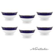 【NORITAKE】藍色樂章飯碗 12 cm(6件組)