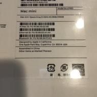 2018 Mac mini i5 3.0G/8G/256G 太空灰
