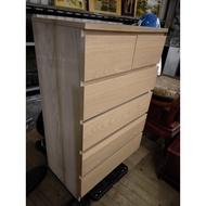 【土城二手市集】IKEA宜家 實木五斗櫃 五斗櫃 斗櫃 衣櫃 抽屜櫃 收納櫃 置物櫃 電視櫃