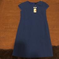 [全新]芃諭名品 寶藍色 秋冬 洋裝