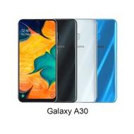 (現貨藍色)SAMSUNG 三星 Galaxy A30 (A305G) 4G+64G 6.4吋智慧手機贈玻璃保護貼