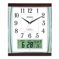 HOSEKI H-9423 H-9140 Melody Clock Series Hourly With 7 or 18 Melodies Classic Design For Living Bedroom Kitchen Deco