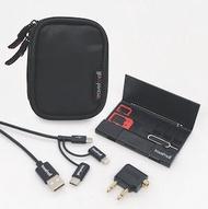Travelmall - 瑞士TravelMall 3合1智能手機充電線、換卡、Type C OTG讀咭器套裝