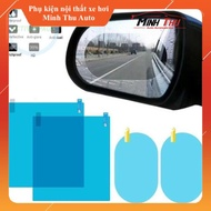Set of 4 glass mirror stickers - mirror stickers - car rearview mirror stickers