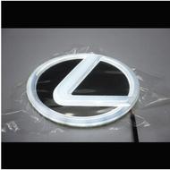 高級感凌志雷克薩斯LED車標燈冷光後尾車標前標發光燈5D發光車標改裝車標雷克薩斯款 冷光標led車標燈改裝車標帶燈