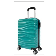 Aaplus 20吋湖泊綠水波紋行李箱