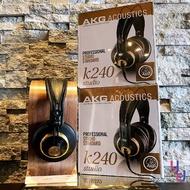 現貨免運 送轉接頭 AKG K240 Studio 音樂 製作 編曲 監聽 耳機 錄音 半開放式 耳罩