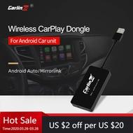 Carlinkitไร้สายApple CarPlay /Android Auto Carplay Smart Link USB DongleสำหรับAndroidนำทางMirrorlink /IOS 13