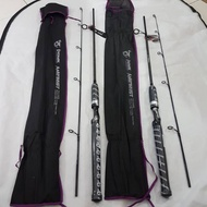 Sb2 Pioneer Amethyst 150 And 165 Carbon Fishing Rod And Full Fuji Ring