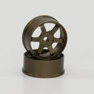 京商 KYOSHO MINI Z 零件 R246-1411 MA015.02 改裝6爪 金屬輪框 東海模型