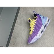 Nike LeBron 16 Lakers Championships CK4765-500 湖人 紫色 LB