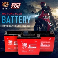 【Quality Assurance】Tiger Head Motorcycle Battery 12V Motolite Battery ( YTX4L-BS, YTX5L-BS, 12N5-BS)