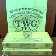 🇸🇬《新加坡代購》正版1837 TWG TEA 黑茶/焦糖奶油