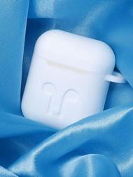 保護套 蘋果airpods保護套airpods2可愛矽膠套藍芽無線耳機套充電保護殼  雙11購物節