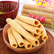 【福義軒】手工芝麻/機能/咖啡/抹茶/巧克力/優格蛋捲(任選10包組)