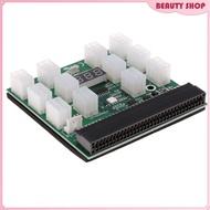 1200w/750w Breakout Board For HP PSU GPU Mining Ethereum ZEC ZCASH Button
