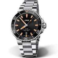 ORIS 豪利時 Aquis時間之海300米潛水錶 0173377304159-0782405PEB