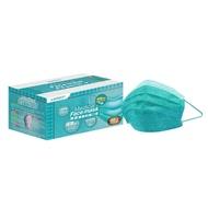 萊潔 醫療防護成人口罩-牛仔松石綠(50入/盒裝)(衛生用品,恕不退貨,無法接受者勿下單)