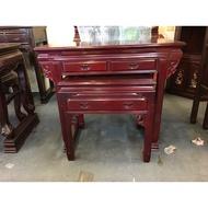 全國紅木家具 四尺二 明式 神桌 紅木