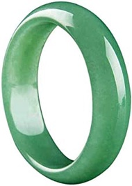 Classic Retro Oriental Style Natural Aventurine Jade Bangle Link Bracelet,Crystal Natural Stone For Men Women Holiday Gift. (Size : 57-58mm)