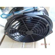[多元化風扇風鼓]SHENG  KWEI全新6吋風扇散熱風扇 110v (附保護網*2+電源線+開關)