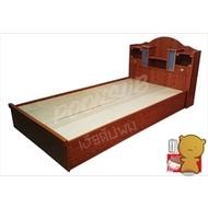เตียงนอนไม้ ขนาด3.5ฟุต
