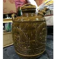 陶瓷龍紋酒釀甕
