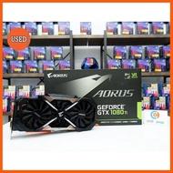 Best Quality การ์ดจอ Gigabyte Aorus GTX1080TI 11GB 3F (ประกัน ร้าน 30 วัน) P06836 GIGABYTE การ์ดจอ VGA adapter DDR4 computer RAM CASE