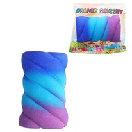 Orange Squishy 14.5cm Lovely Cotton Candy Marshmallow Slow Rising Toys With Packaging