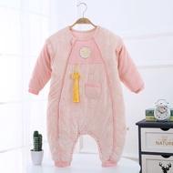 嬰兒睡袋分腿寶寶春秋防踢被四季新生兒冬季大童寶寶加厚兒童可拆
