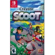【Nintendo 任天堂】NS Switch 繪兒樂滑板車 英文美版(Crayola Scoot)