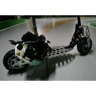 EVO 71cc 引擎滑板車 兩段變速 速度快 扭力大 外型漂亮 質感佳