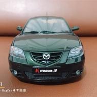 🙋🏻♂️BuyCar模型車庫 1:18 馬自達3 Mazda3  模型車